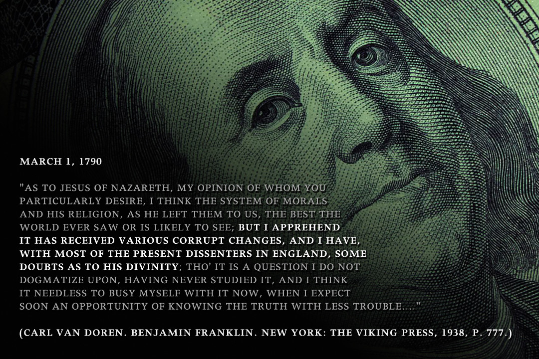 founders - benjamin franklin 1