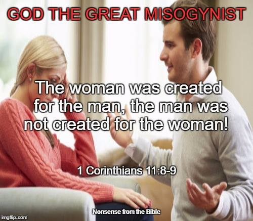 god - the great misogynist