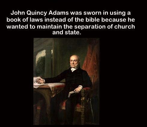 mind-quote - john quincy adams, sworn in