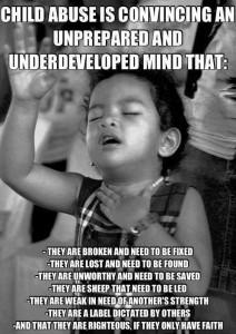 indoctronation - child abuse