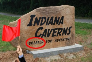 indiana caverns - entrance, fixed