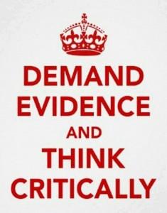 demand evidence