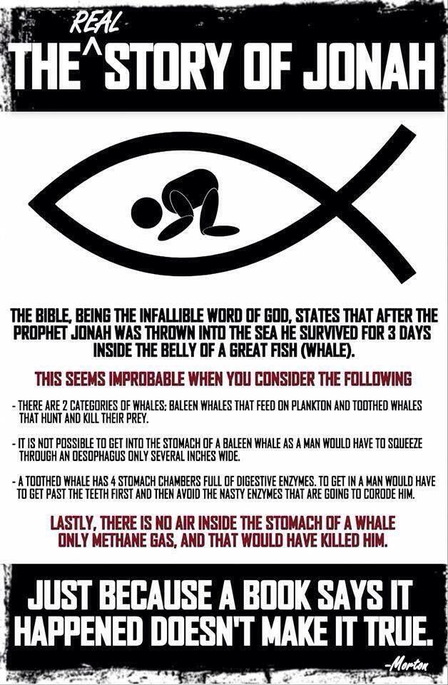 mindsoap - ridiculous, jonah and the whale bullshit