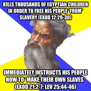 mindsoap - slavery, god exodus