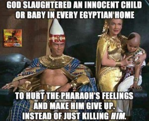 pharoah has an attitude problem