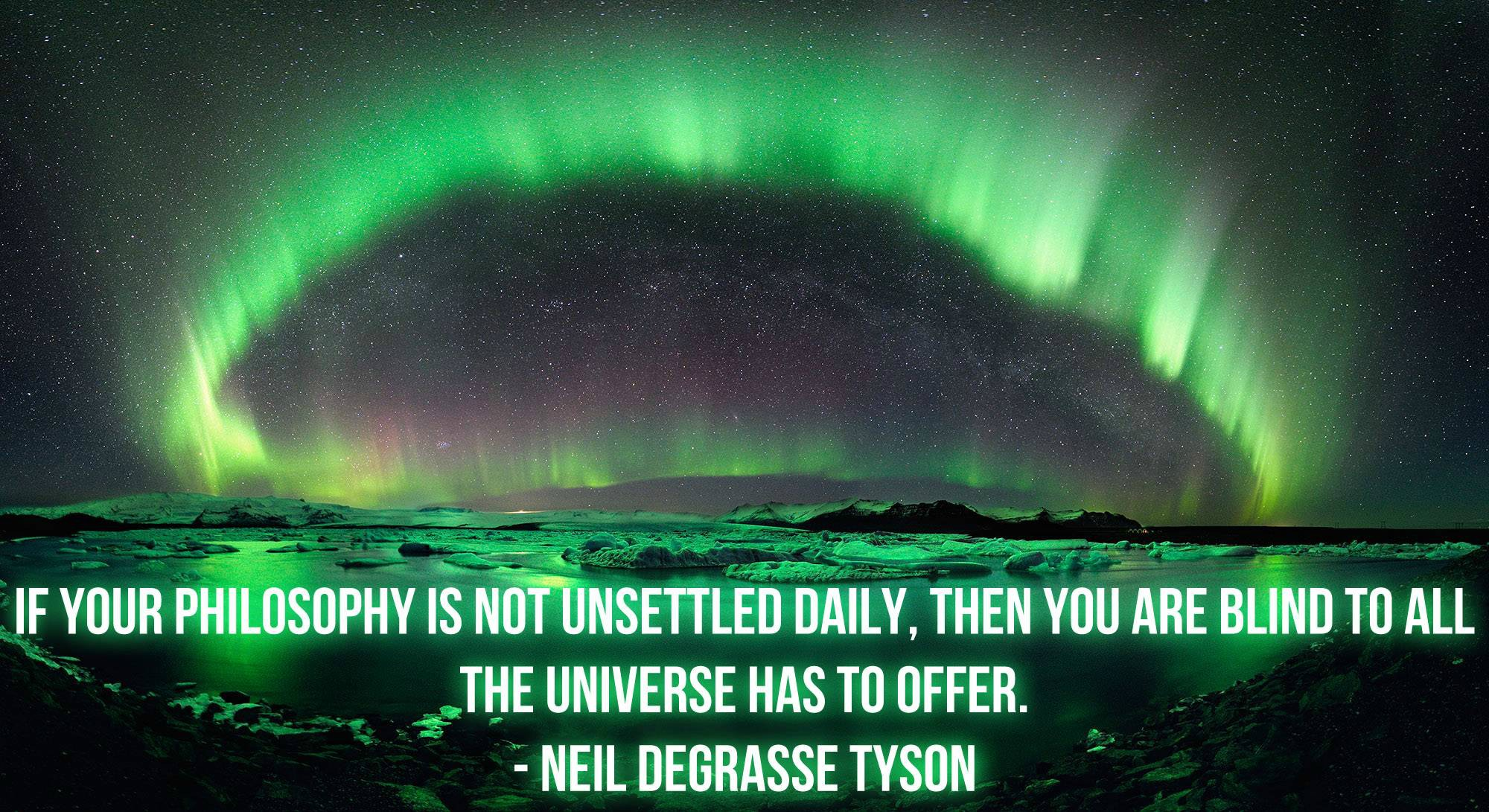 Neil Degrasse Tyson - Unsettled Philosophy