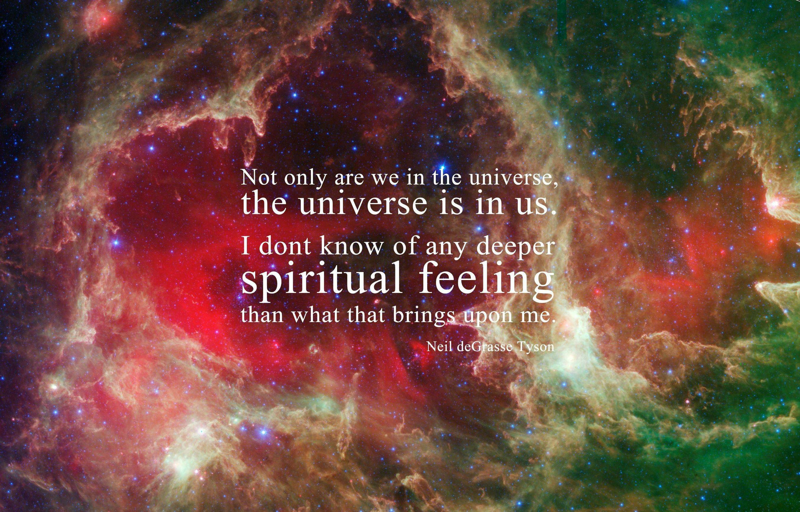 NDT - The Universe Is In Us