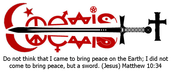 mindsoap - coexist honest - jesus sword