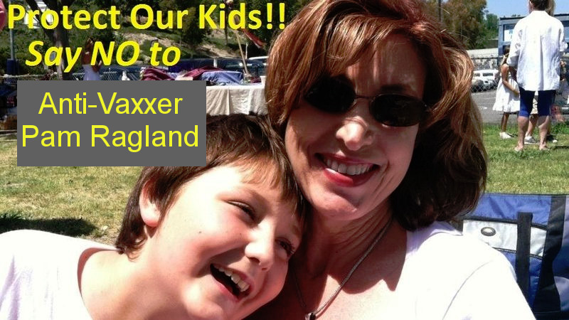 pam ralgand - just say no to antivaxxers
