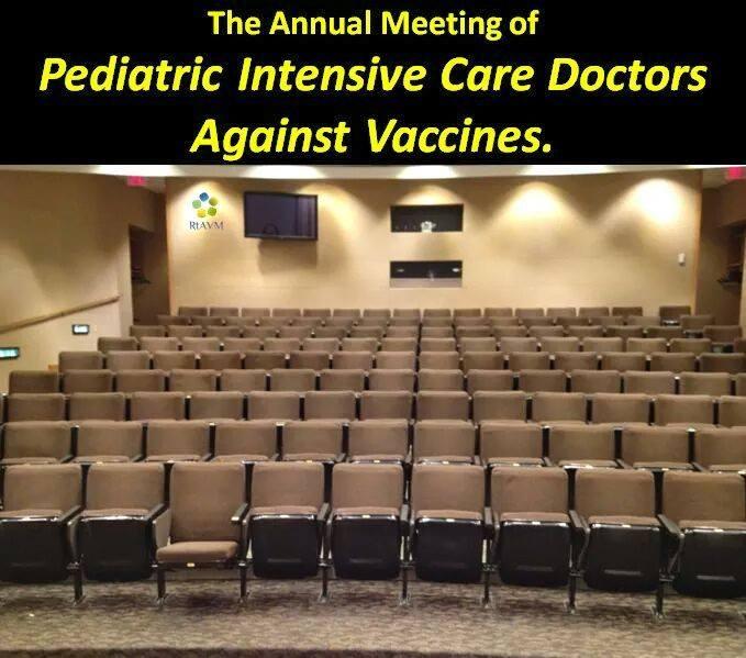 pediatric intensive care doctors against vaccines