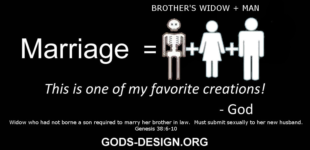 gods original design ministry, honest christian marriage - 4. man brother's widow