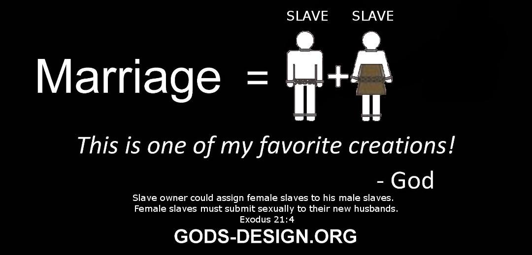gods original design ministry, honest christian marriage - 7. slave and slave