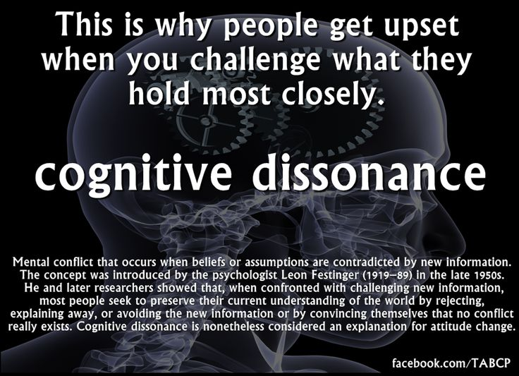 cognative dissonance