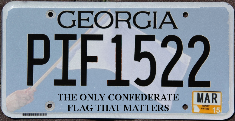 georgia confederate flag - the only one that matters