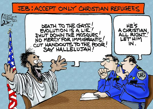 christian refugees only