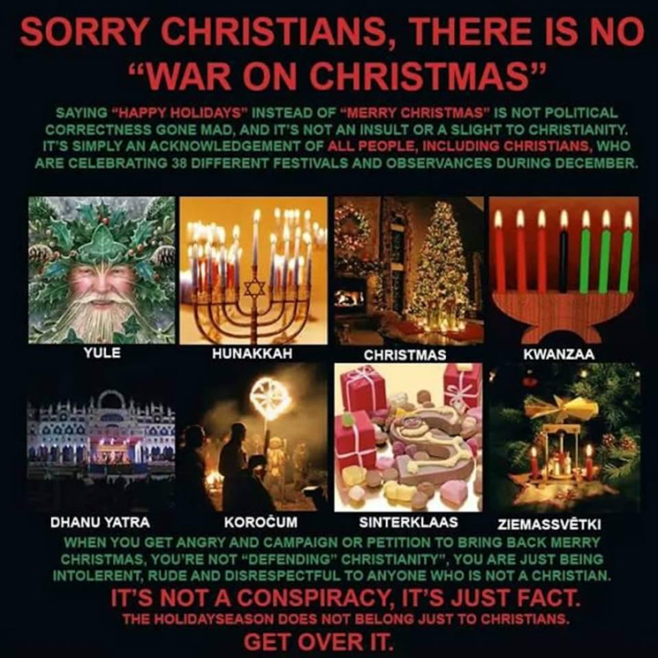 sorry christians