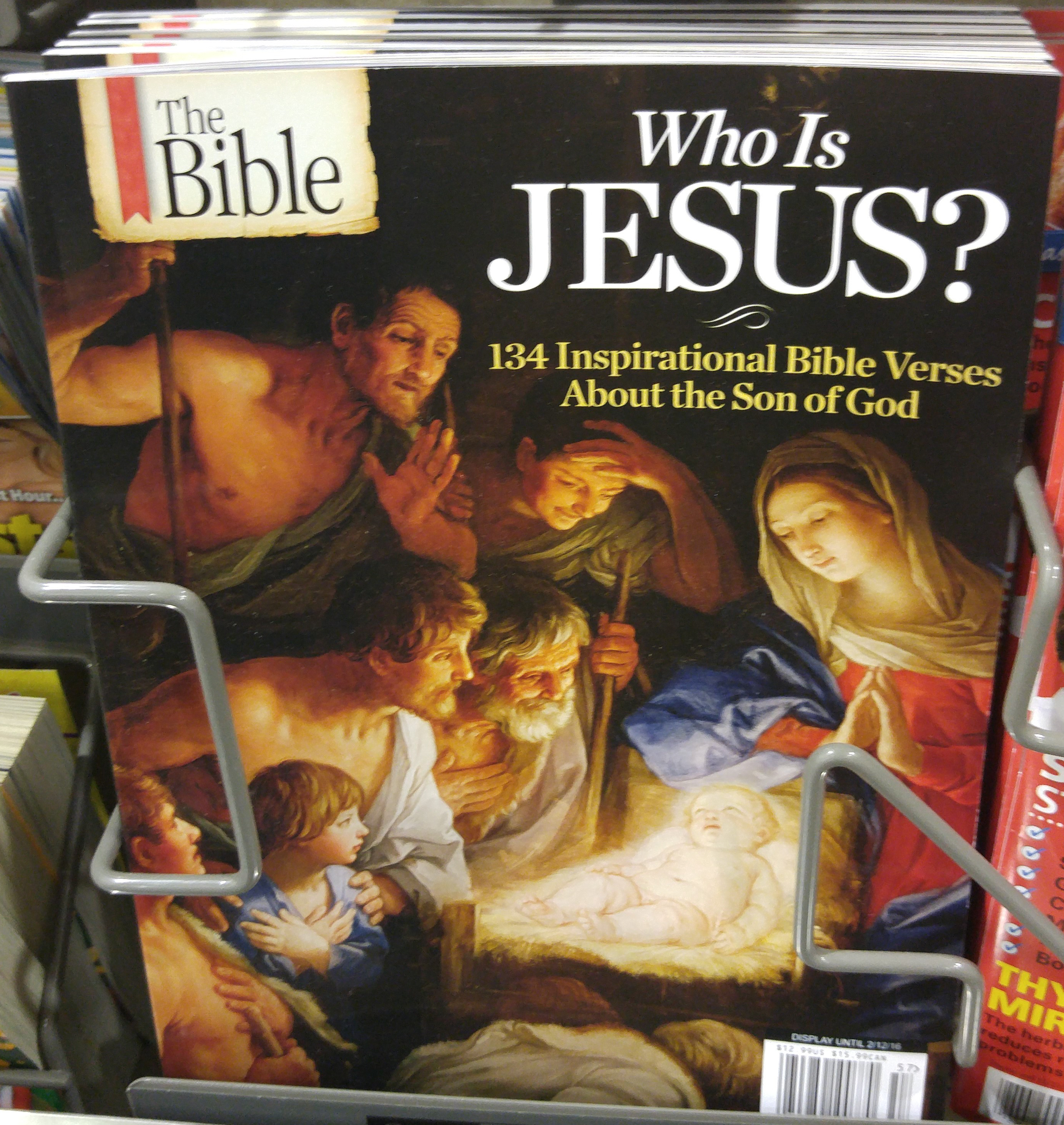 surviving jesusland - who is jesus