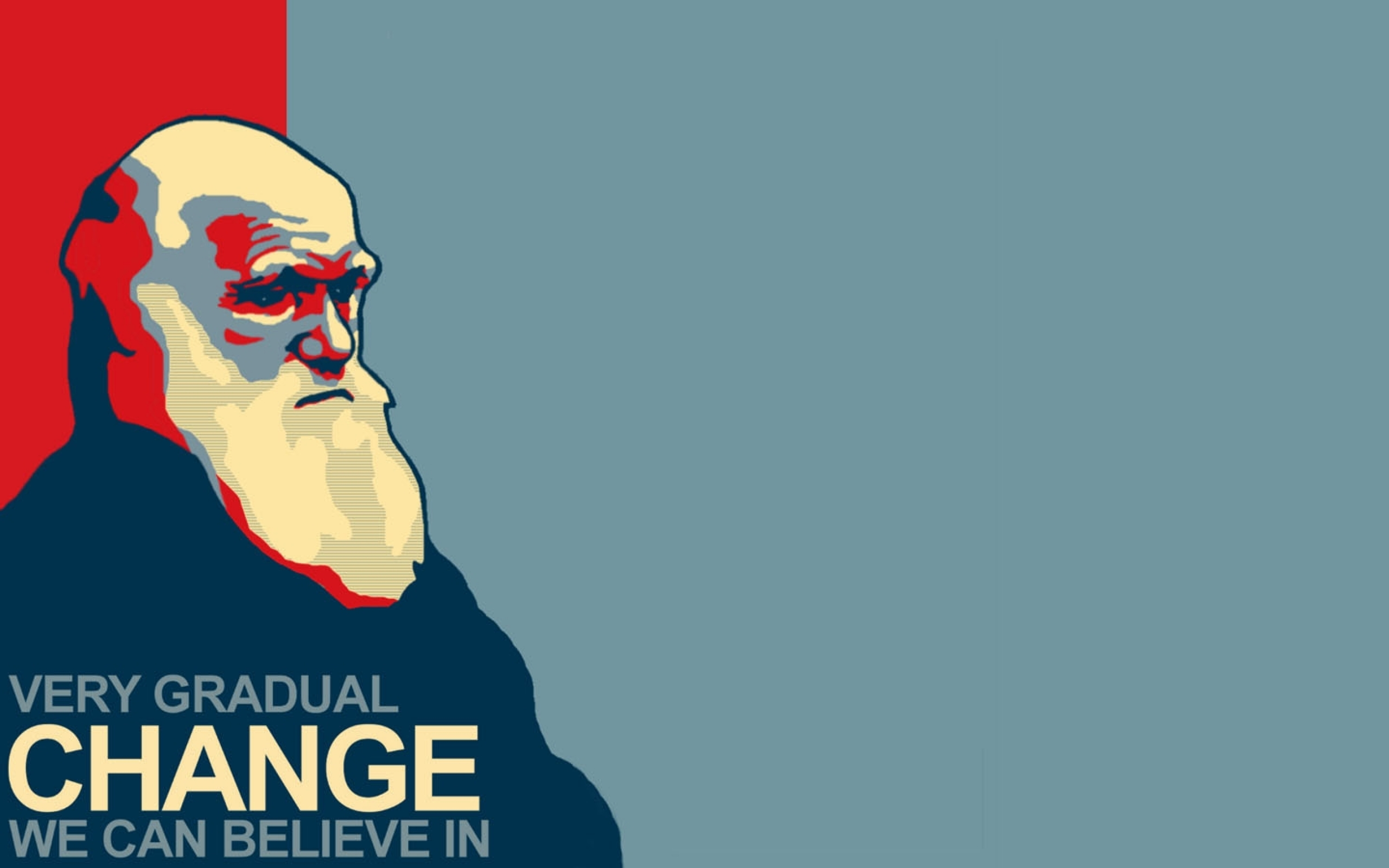 darwin - very gradual change 2
