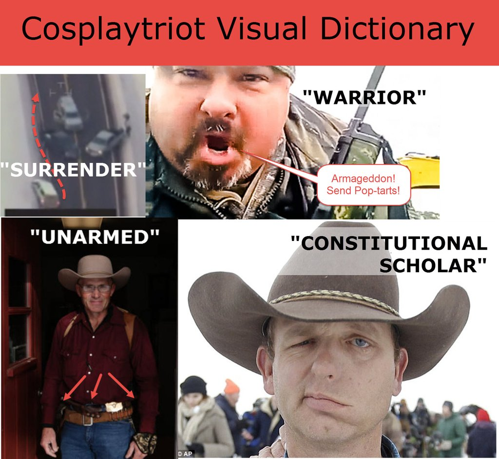 patriot cosplay dictionary