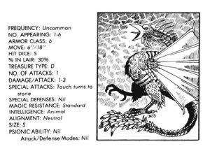 bible monster manual - cockatrice