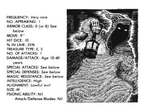 bible monster manual - ghost