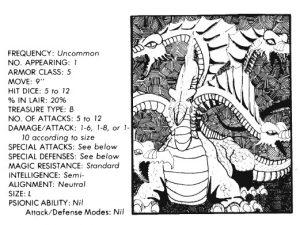 bible monster manual - seven headed beast